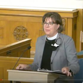 The Reverend Christine V. Hides